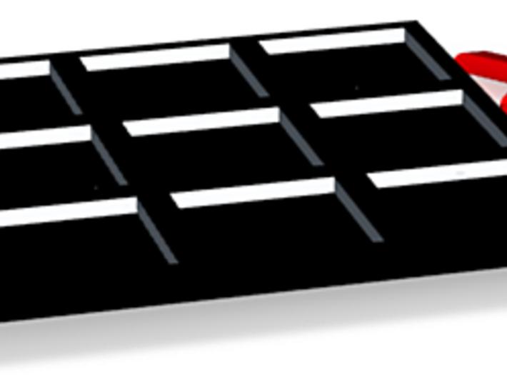 Tic-Tac-Toe 3d printed