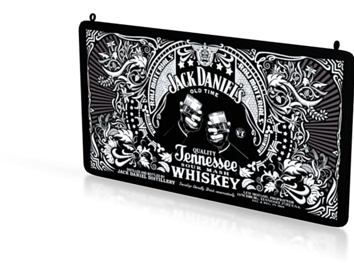 Jack Daniels Plaque 3d printed