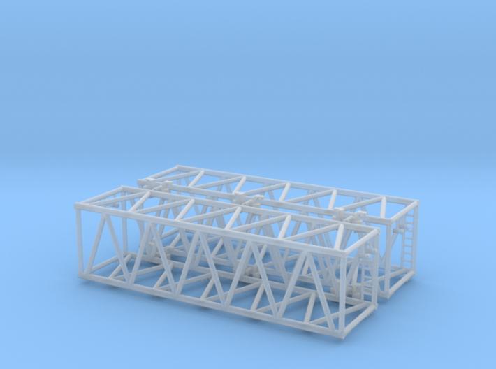 Liebherr LR 1600 Mast groß 1:160 3d printed