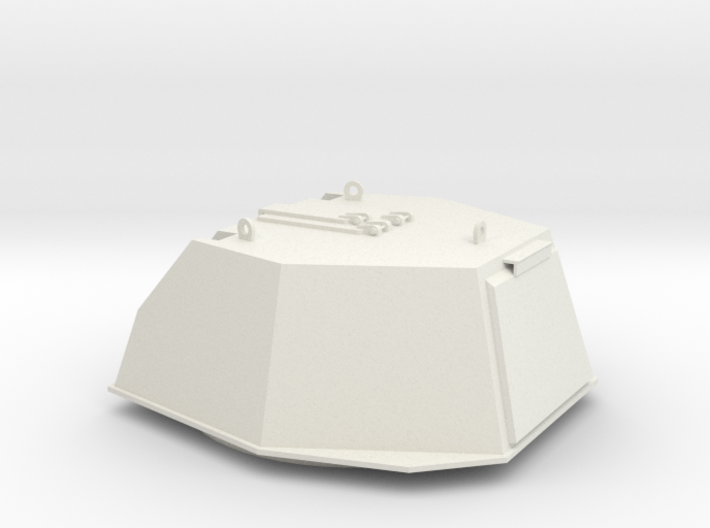 turret DShKM-2BU Articulated Part A Scale 1:16 3d printed