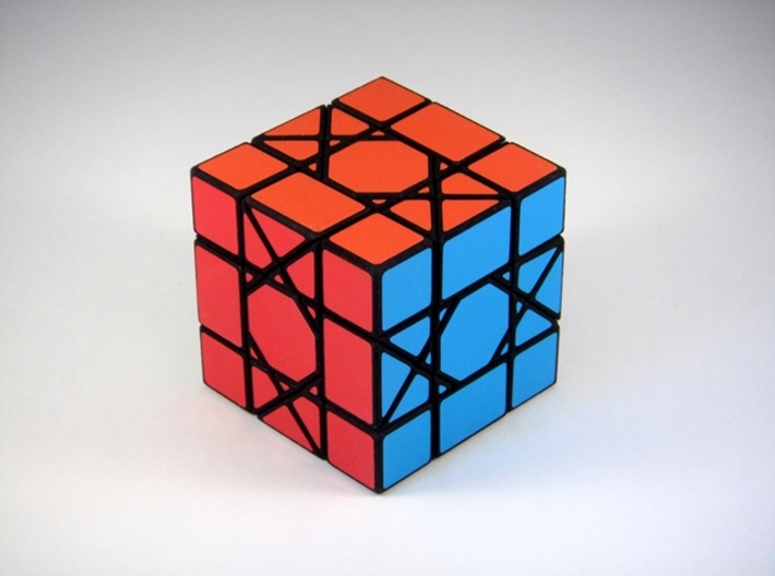 OctoCube Puzzle 3d printed Opposite Corner