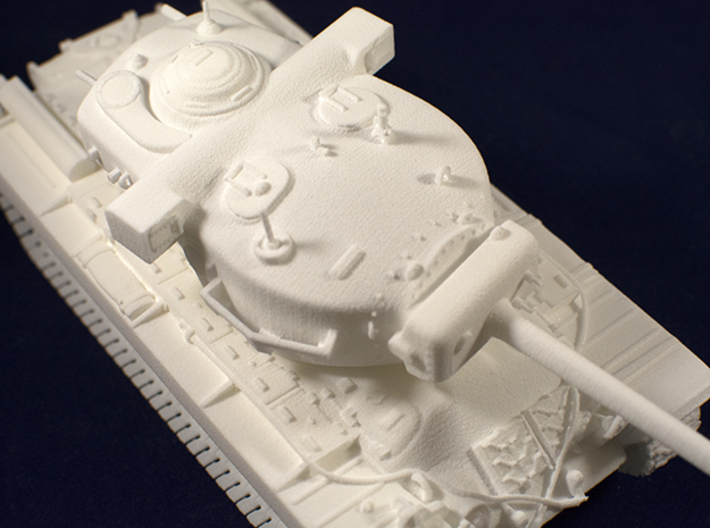 1:48 T29 Tank from World of Tanks game 3d printed Close up view of printed model