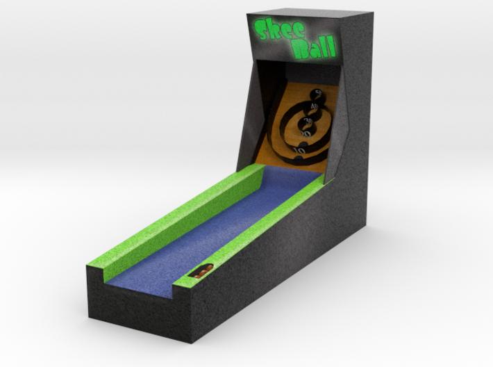 Mini Skeeball 3d printed