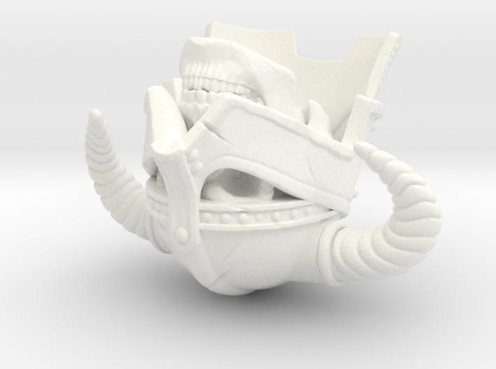SL01-Head-03  7inch 3d printed