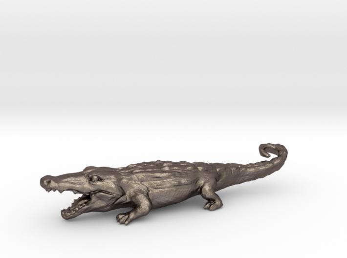 Alligator Keychain / bottle opener 3d printed