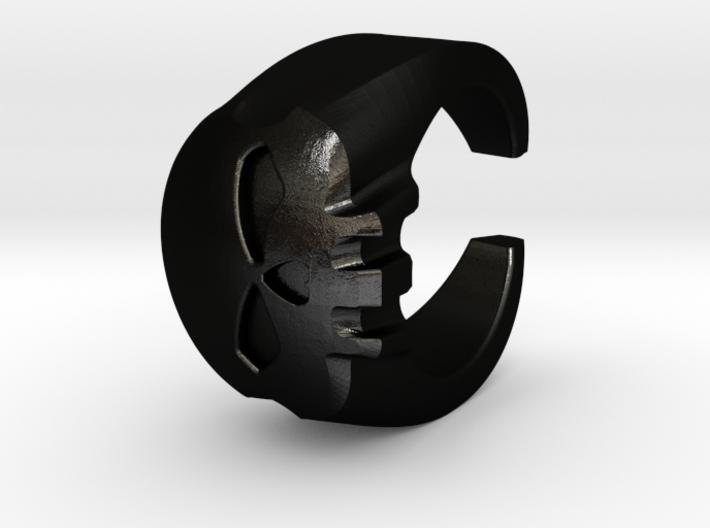 Skull Ring 2 3d printed