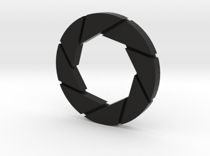 Aperture Logo 3d printed