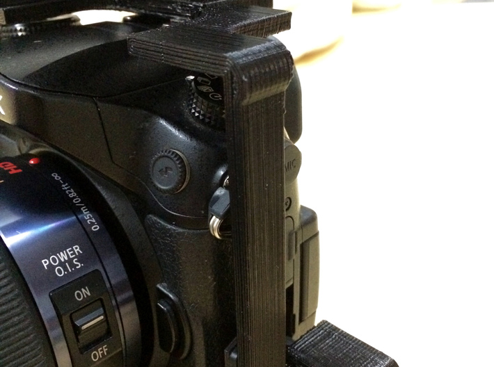 3DGuy GH4 Cage with HDMI Saver (No Handles) 3d printed