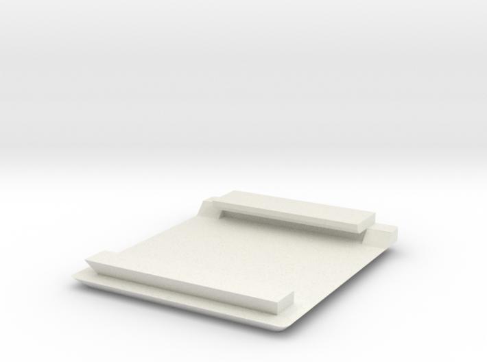 Jodocast's Rapidpistol front Handlecut Plate 3d printed
