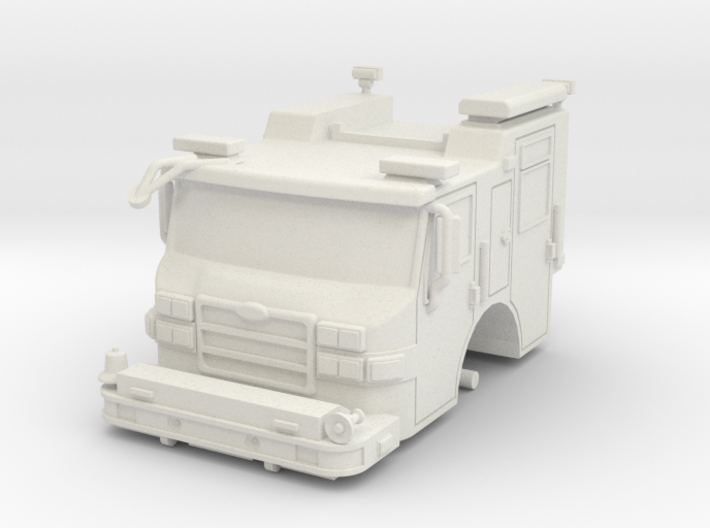 Vehicle-016-cab-hollow 1-64 3d printed