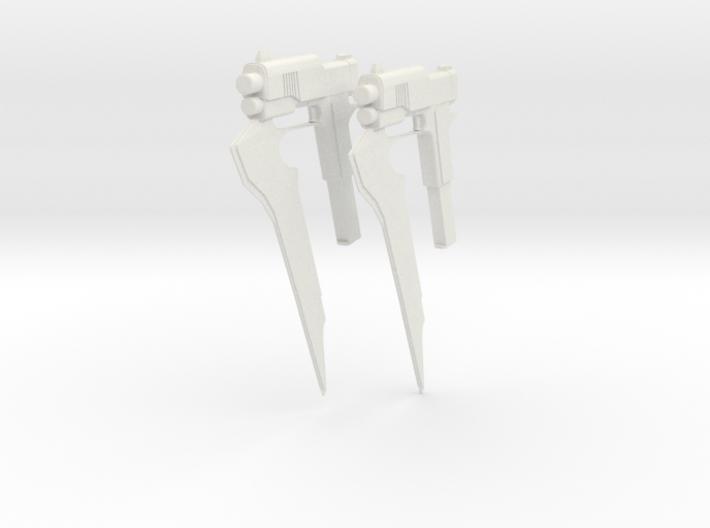 RWBY Stormflower - Duel Pair 3d printed