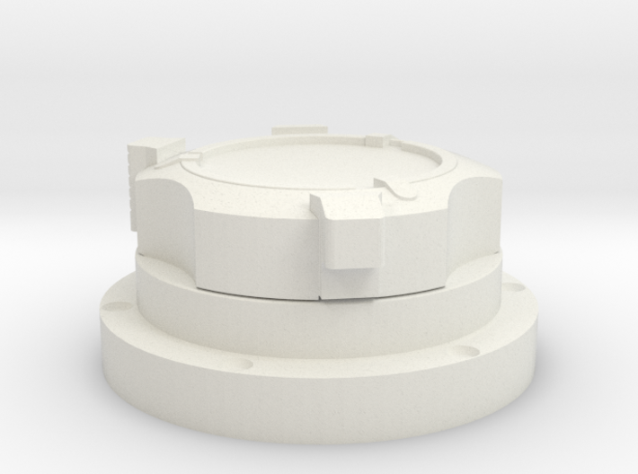 Apollo Scaled Gas Connector (Right) for Revell Man 3d printed