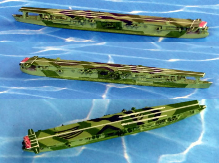 "IJN Aircraft Carrier ""Ryuho"" 1/2400 3d printed Add a caption..."