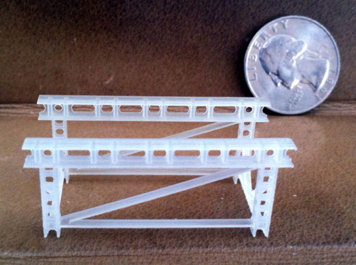 1/32 WWI Flugmotor Stand 3d printed