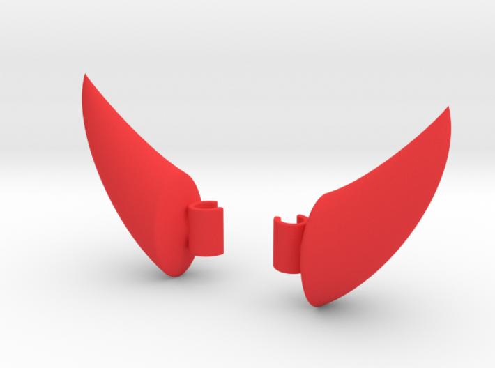 EarPod Earrings | Devil Horns 3d printed