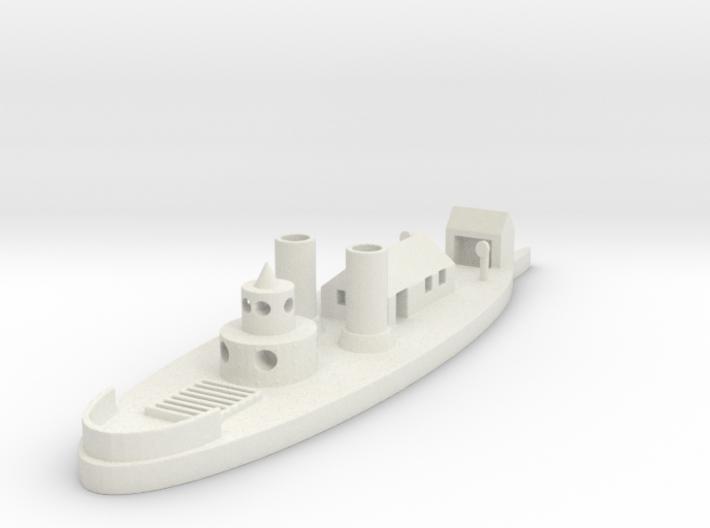 1/600 USS Ozark 3d printed