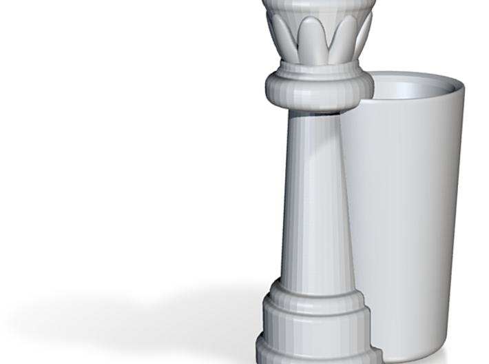 Queen Chess Piece Shot Glass - 44mL / 1.5 US fl oz 3d printed
