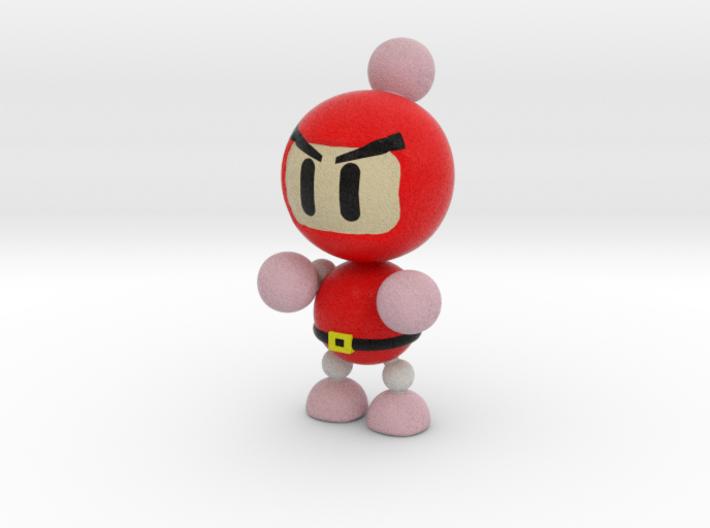 Red 3d printed