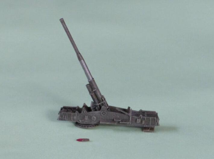 """M65 Gun """"Atomic Annie"""" solo 1/285 6mm 3d printed Add a caption..."""