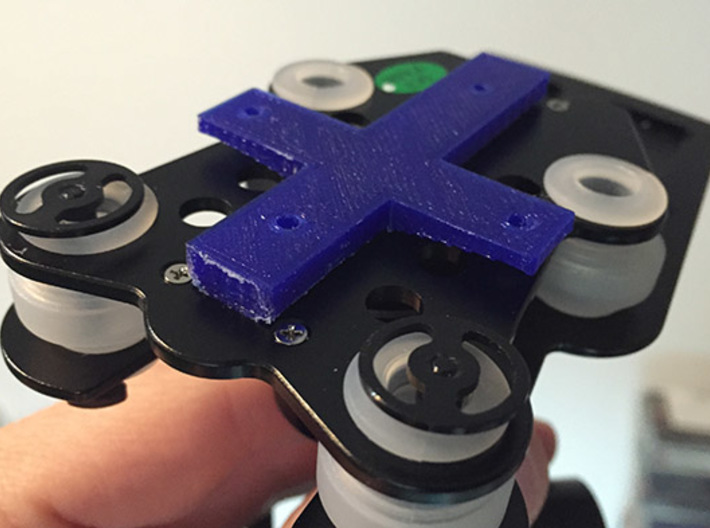 walkera G-3D gimbal to cheerson cx-20 adapter 3d printed gimbal - adapter fit