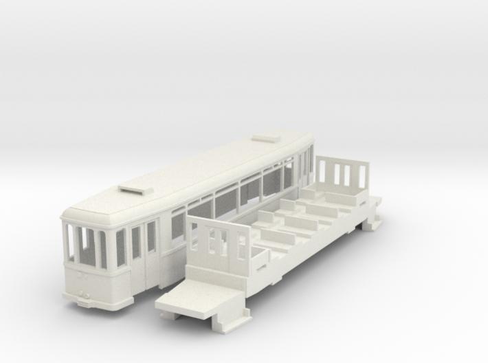 MÜBAG Vierachser Beiwagen 3d printed