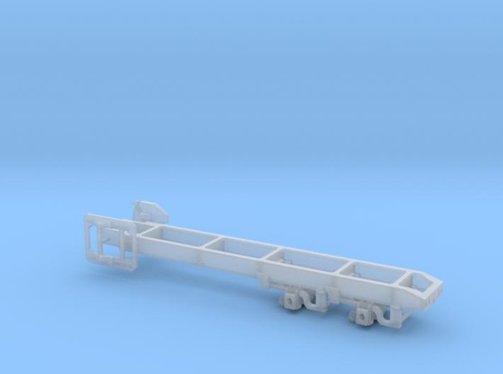1/64th Truck frame w Pete Air leaf tandem suspensi 3d printed