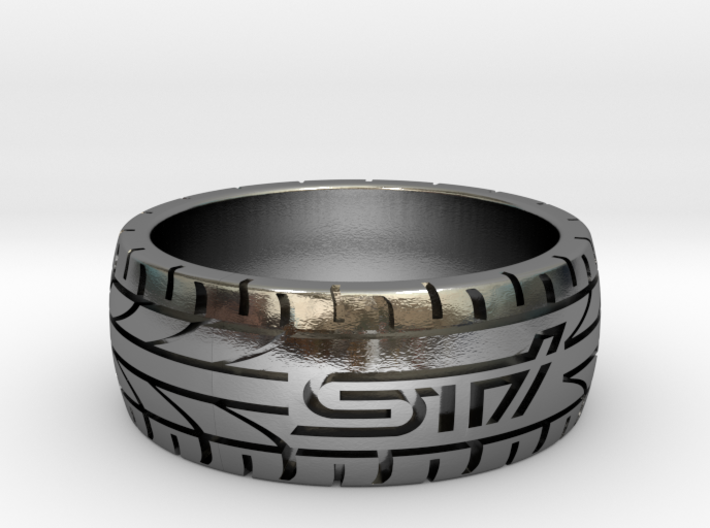 Subaru STI ring - 18 mm (US size 8) 3d printed