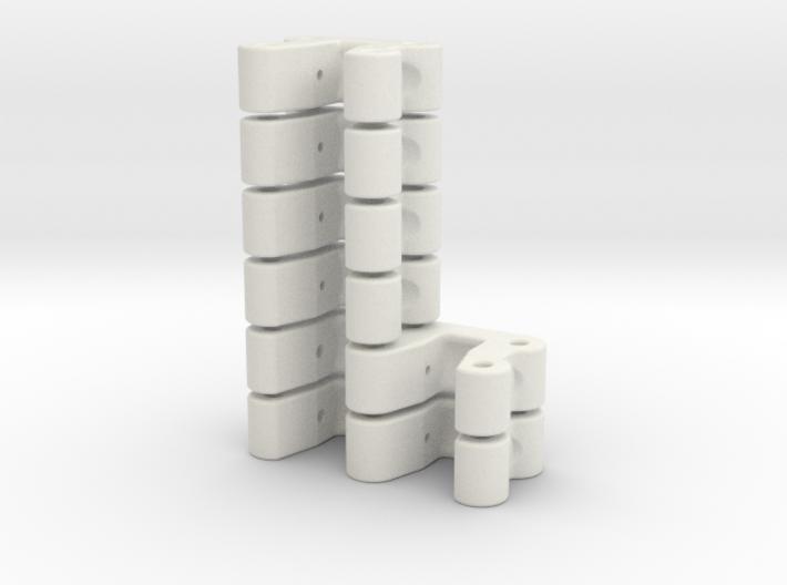 Kugelkopfhalterung LOSI MRC, Set: 2x Doppelt, 4x E 3d printed