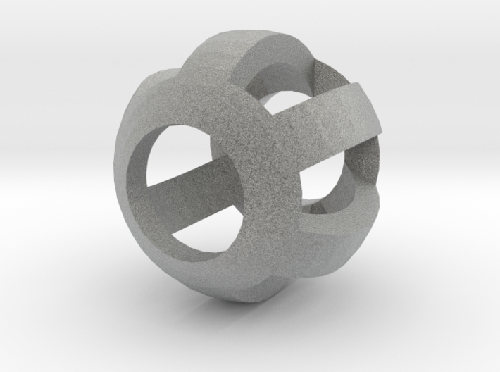 Bead10mm2mmthick60degFiligree 3d printed
