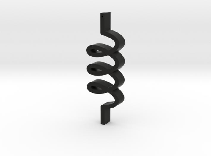 3 loops 3d printed
