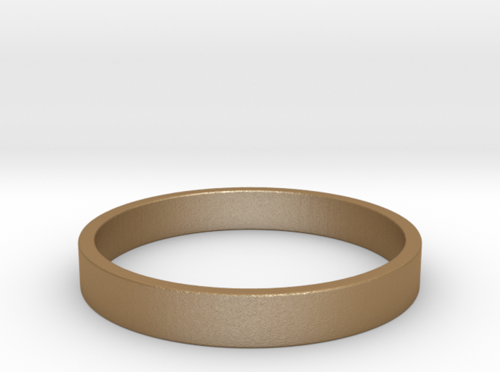 Simple and Elegant Unisex Ring | Size 9 3d printed