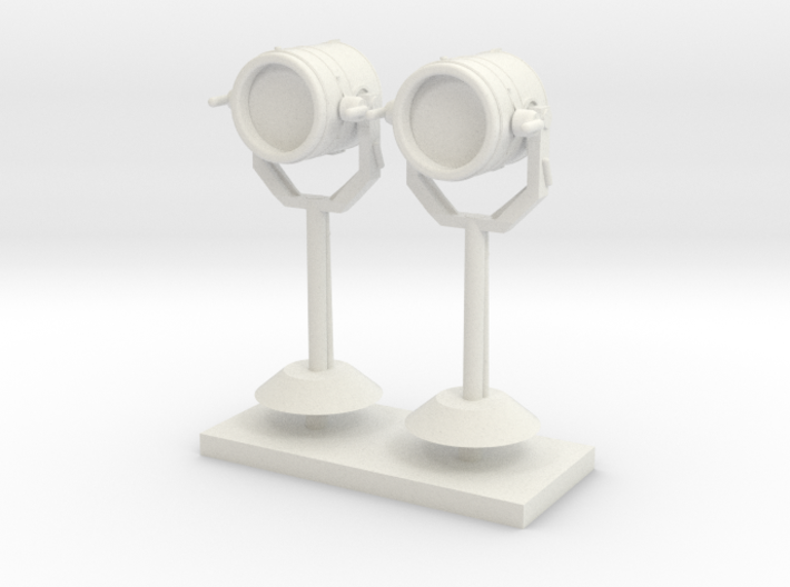 1:48 Search Light in set of 2 3d printed