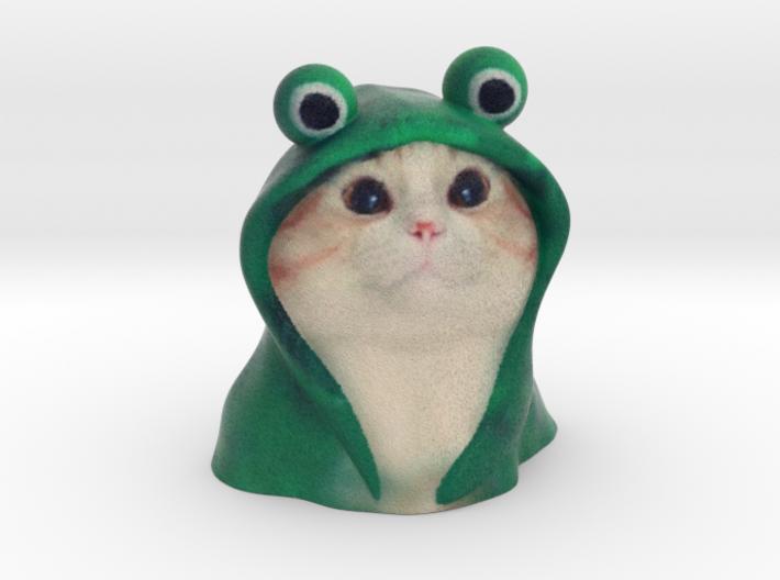Frog hoodie Cat - internet meme 3d printed frog hoodie