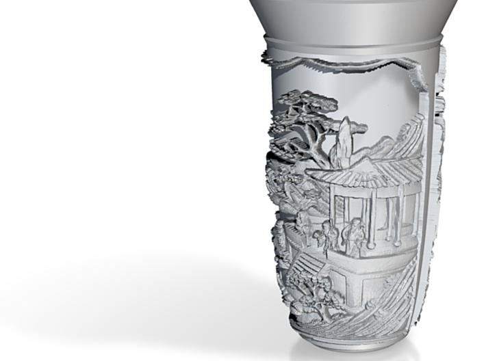 China Vase 3d printed