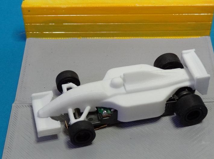 HO F1 1992 FW14B Slot Car Body 3d printed