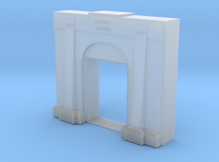 Moffat Tunnel Entry Z Scale 3d printed