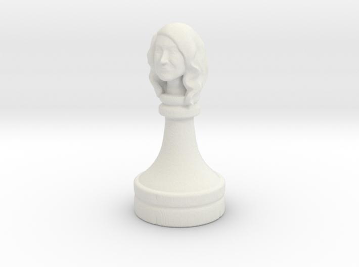 Gibson_ChessPiece 3d printed