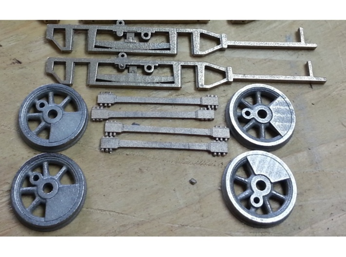 0-4-0 frames for OR&L Kauila 1:20.32 3d printed A shot of the parts I have so far.