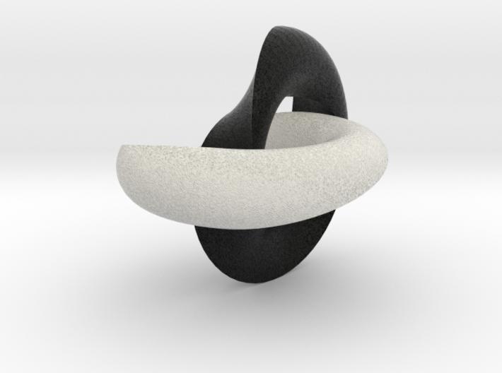 Möbius Torrus double 3d printed
