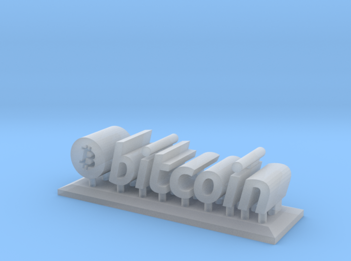 Bitcoin Microstand 3d printed