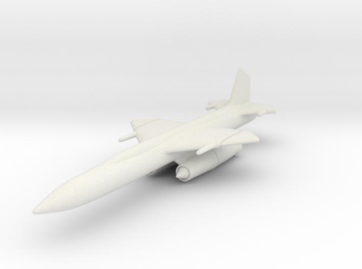 Boeing CIM-10 (IM-99) Bomarc 1/200 3d printed