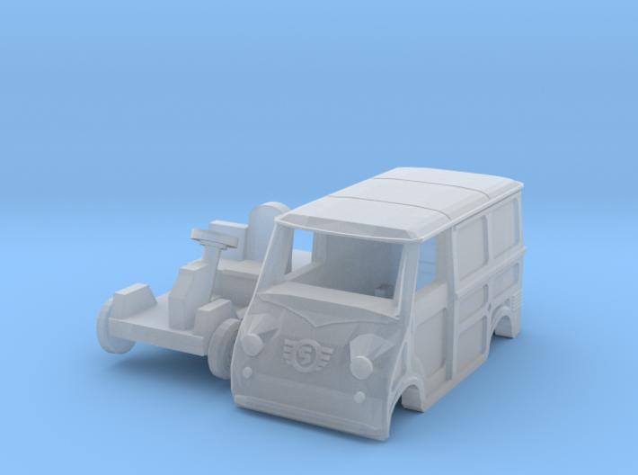 Goggomobil Transporter (N 1:160) 3d printed