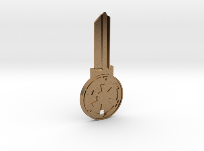 Empire House Key Blank - KW1/66 3d printed
