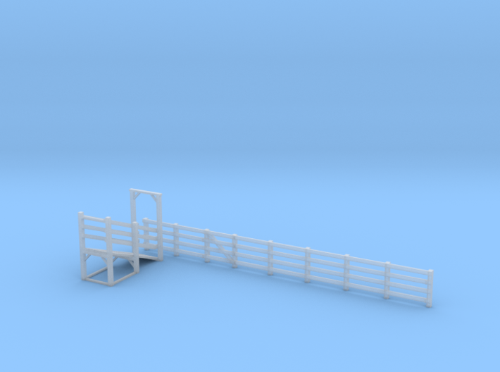 N-Scale Branchline Cattle Pen - Updated Parts 3d printed