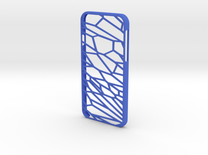 Fracture case for iPhone 6 3d printed