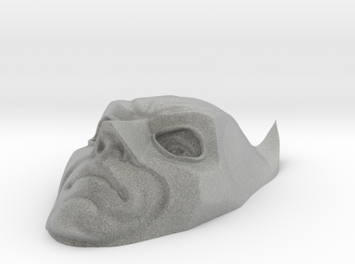 Merged Batman Face 3d printed