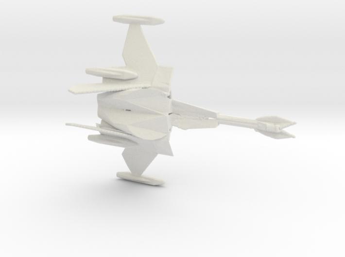 Klingon Ship Cha'bIp 3d printed