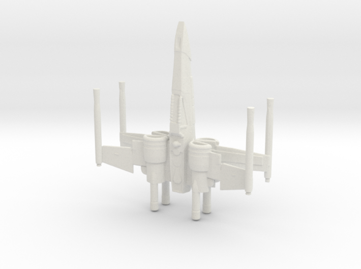 Space Superiority Fighter 7 3d printed
