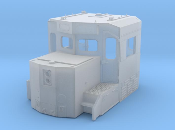 HO scale 1:87 CSX SD40-3 Wabtec Cab 3d printed