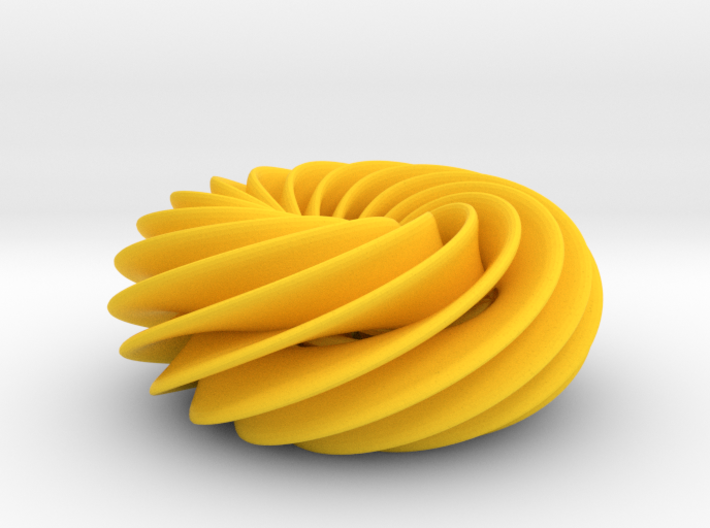 Spiral Torus No2 3d printed
